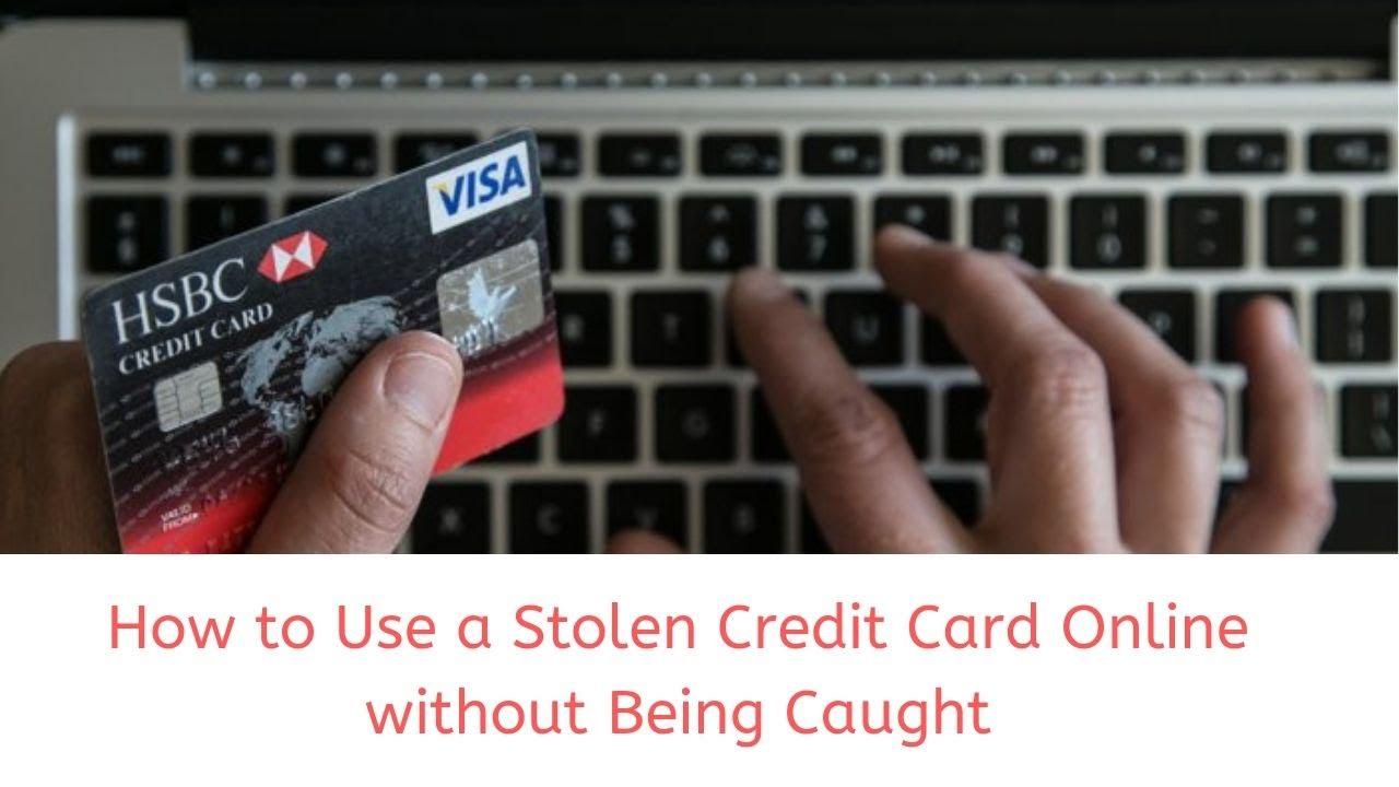 How to use stolen credit cards. www.eremmel.com
