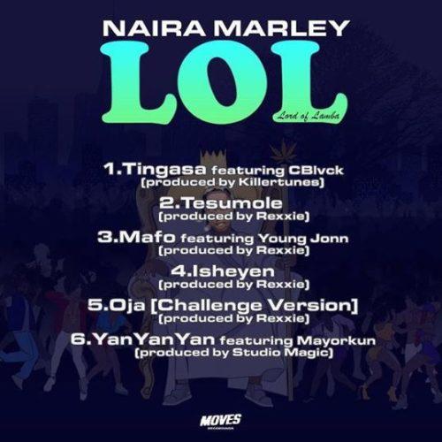 Tingasa - naira marley album. www.eremmel.com
